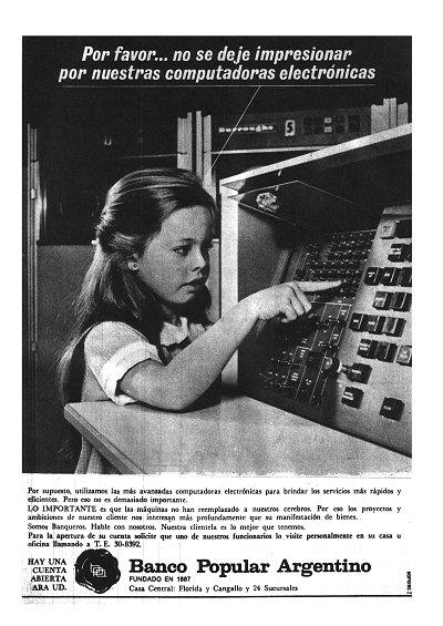 No se deje impresionar por nuestras computadoras electrónicas
