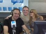 Guille, Rodrigo y Norma