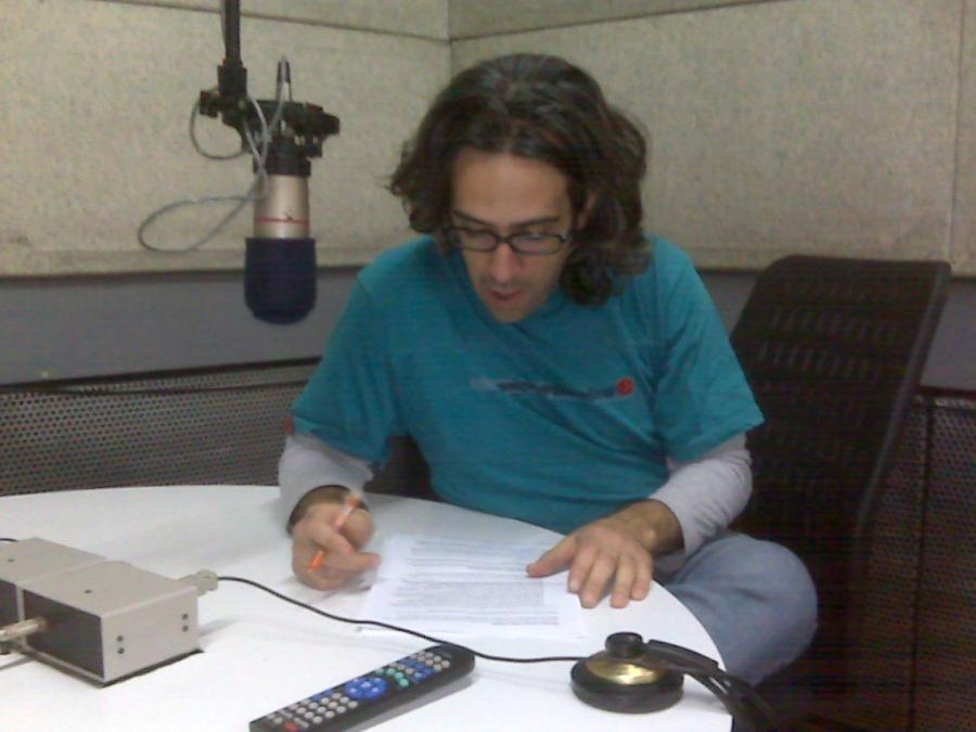 Mariano Cáceres en acción