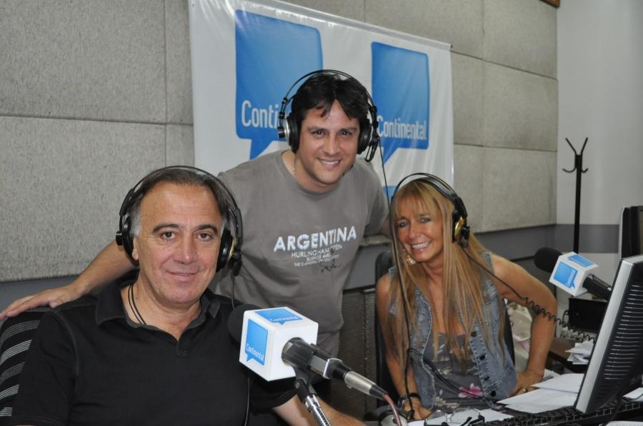 Guille, Sandro y Norma
