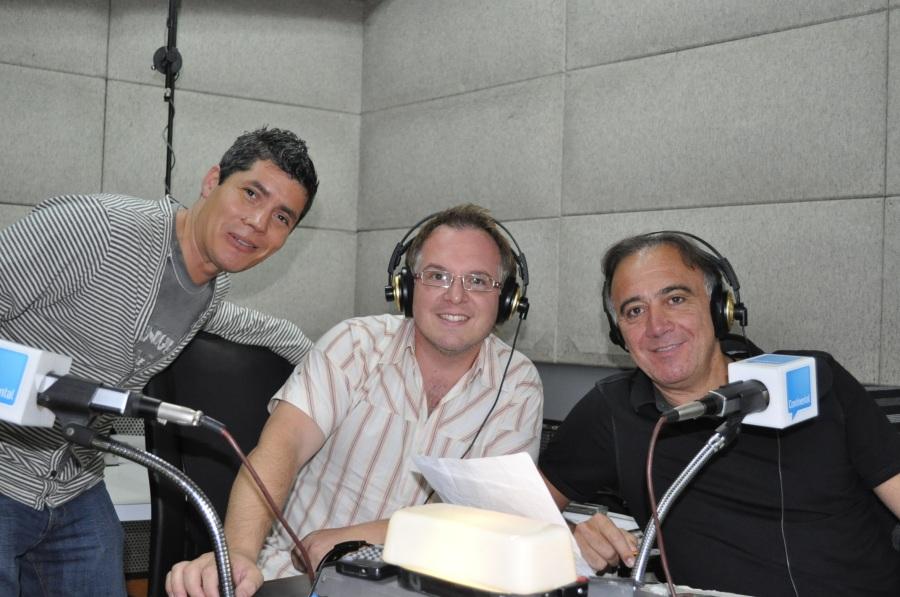 Ezequiel, Rodrigo y Guille