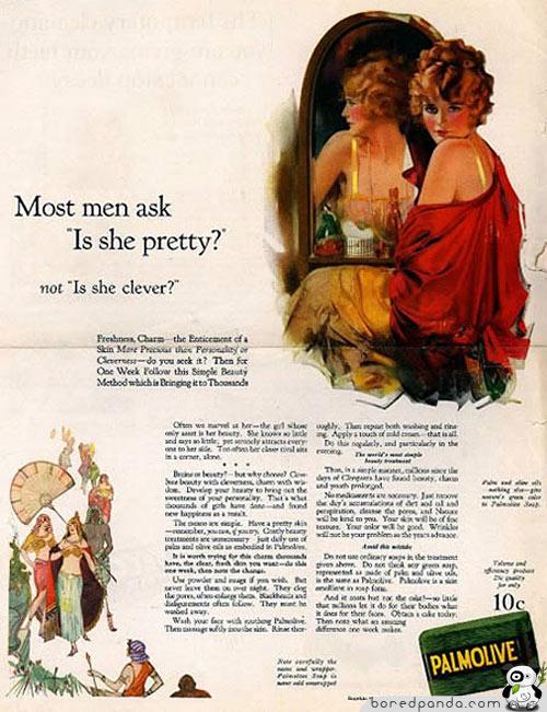La mayoría de los hombres se preguntan: ¿está buena?, no ¿es inteligente?