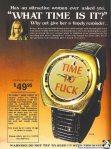 Te ha preguntado una mujer atractiva, qué hora es?